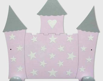 porte manteaux mural f e et papillons pat re chambre fille. Black Bedroom Furniture Sets. Home Design Ideas