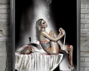 Art print, Fine Art Printing,Wild-passion,Erotic,Poster