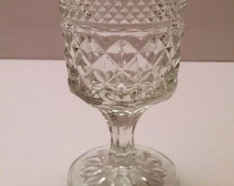 Anchor Hocking Wexford Clear Claret Wine Glass