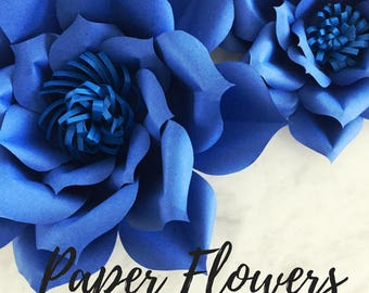 Paper flower template | flower template | paper flower backdrop | flower backdrop | giant paper flower | large paper flowers