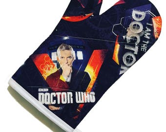 Doctor Who 12th doctor Oven Mitt