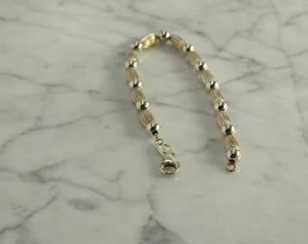 "Sterling Silver Bracelet (7 1/4"")"