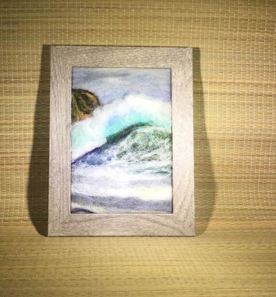 Seascapes/Ocean Scenes/Felt Paintings