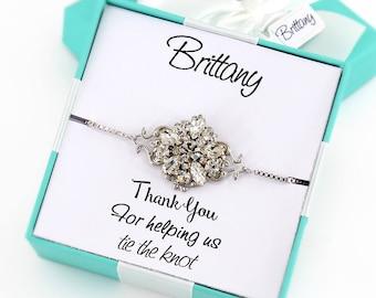 Wedding Bracelet Bridesmaid Bracelet Crystal Bracelet Wedding Bracelet Crystal Bracelet Wedding Jewelry Bridal Bracelet Bridal Jewelry Daisy