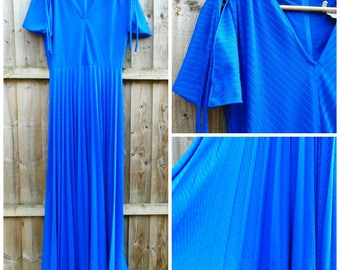 Vintage Dress - Evening Dress - Maxi - Party - Prom - 1980's