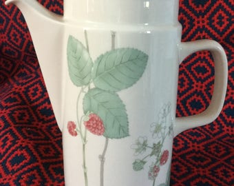 Vintage Wedgwood Raspberry Cane Coffee pot