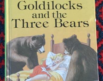 Vintage Ladybird Book -  Goldilocks and the Three Bears