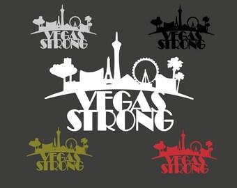 Vegas Strong, Fundraiser Decal, Vegas Strong Car Decal, Vegas Strong, Vegas Strong Decal, Las Vegas, Vegas Fundraiser, Vegas Strong Sticker