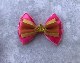 Princess Aurora Bow Sleeping Beauty Bow
