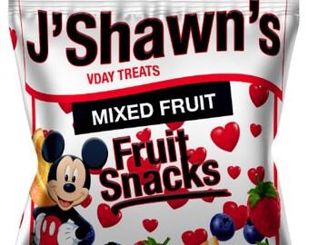 Custom Fruit Snacks