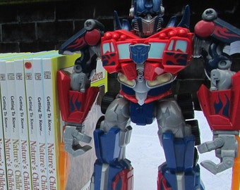 Optimus Prime Do-It-Yourself Bookends