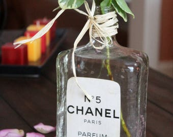SALE! Classic and Chic Vase in Style of Chanel Perfume