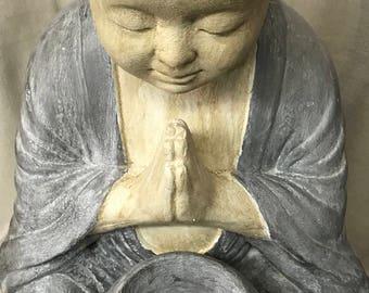 NAMASTE BUDDHA with BOWL