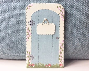 Personalised Fairy Door - Wooden Fairy Door, Fairy Door, Fairies, Fairys, Fairy Doors, Fairy House.