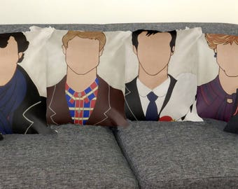 FULL SET Sherlock Pillow Collection (6 pieces), Sherlock BBC, Geek Pillows, Home Decor, Great Savings
