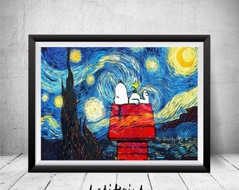 Starry night  Etsy