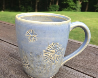 Blue Handmade Ceramic Mug - Bmix