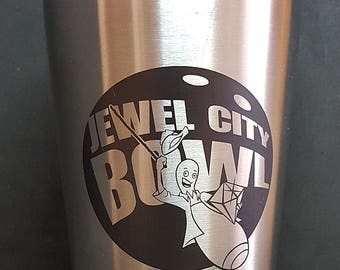 Thermos with Logo, Text, or Both!