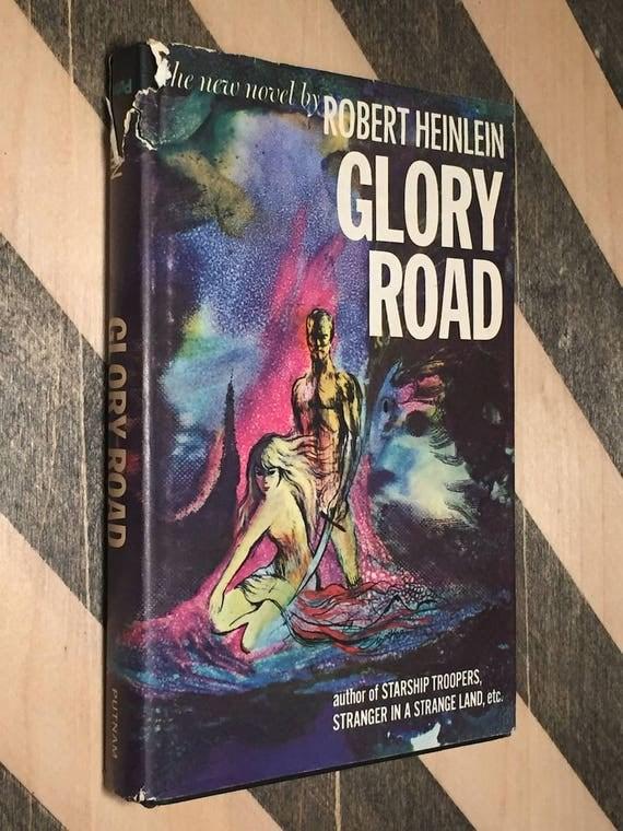 Glory Road by Robert Heinlein (hardcover book)