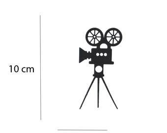Die cut Camera film