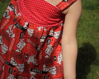 DALMATION Handmade Summer Dress.