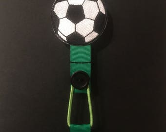Football Ribbon Bookmark