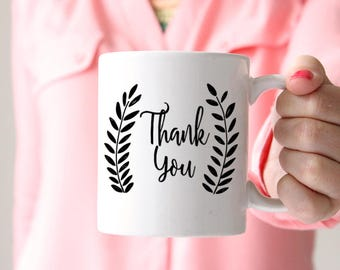 Thank You Gift Thank You Mug Wedding Favor Mug Statement Mug Thank You Mug Gift - Wedding Thank You - Gift for Him Gift for Her Care Package
