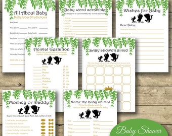 Where The Wild Things Are Baby Shower Games, Baby Shower Games, Printable Baby Shower Games
