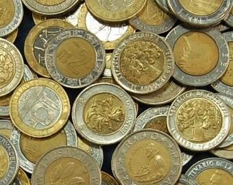 1 Pound of Bi-Metallic Coins