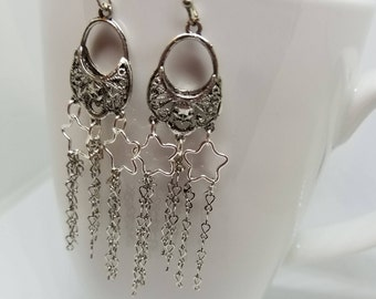 Stars & Stars Forever dangle earrings that shine and sparkle!