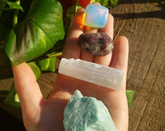 Crystal Set for Truth and Zen / Gift or Travel