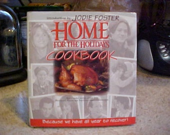 Home For the Holidays Cookbook-Hardback with D/J-108 pages-1995-FREE Shipping-Excellent