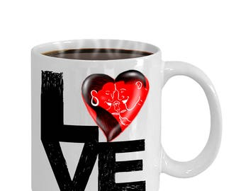 Couples Valentine Gift Mug For Him Or Her