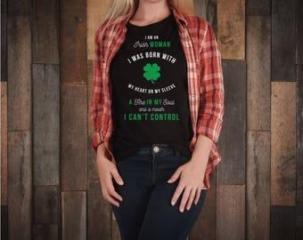 Irish, green shirt, irish shirt, i am irish