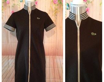 Vintage 60's Izod Shirt Dress