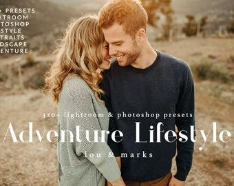 Adventure And Lifestyle Portraiture Presets & Photoshop ACRs Professional Photo Editing for Portraits, Newborns, Weddings By LouMarksPhoto