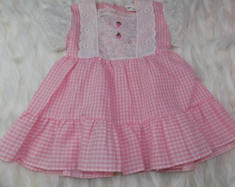 Vintage Toddler Dress Size 4T ILGWU Vintage Dress