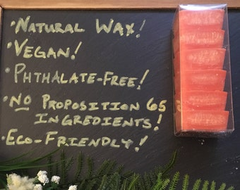 Wax Melts - Mango Papaya Guava - Natural Wax - Phthalate free and hand-blended scents - Highly Scented - No Proposition 65 Ingredients