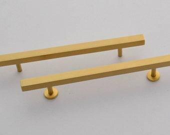 "Cabinet Pulls Brass  5"" Long C/C  3"""