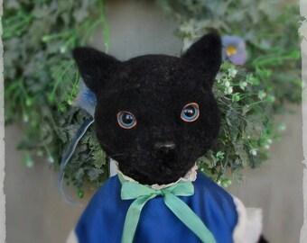 Art Doll Good Luck Cat