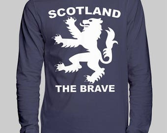 Scotland Football Jersey Unisex Long Sleeve T-Shirt