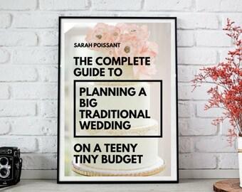 Wedding organizer etsy budget wedding planning ebook a guide for saving money on your wedding wedding planning fandeluxe Document