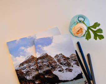 Rocky Mountain Bullet Journal, Dot Grid Notebook, BuJo Bullet Journaling, John Muir Quote