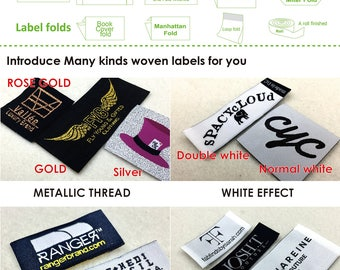 Custom Clothing Labels, woven labels, cleidung labels, woven label for clothing, clothing label printed, label sew on, hem tags, hem labels