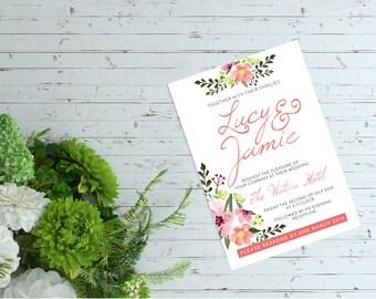 Blossom Wedding Stationary