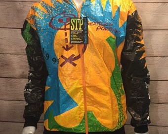 Vintage 1996 STP Seattle to Portland cycling jacket New! NWT
