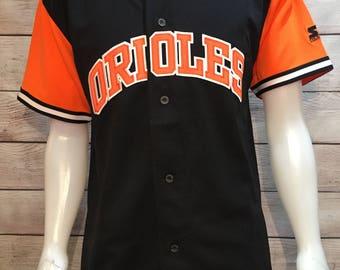 Rare MLB Baseball Baltimore Orioles Starter Jersey