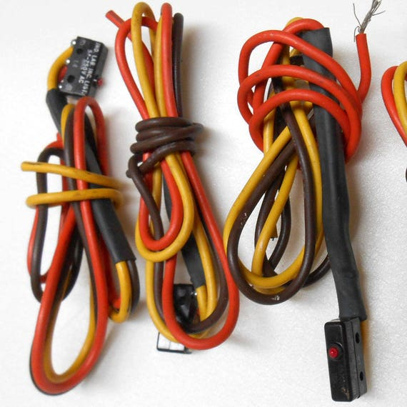4 pc Electrical Connection wire lot ISM I-T 8446 5A 250VAC ...
