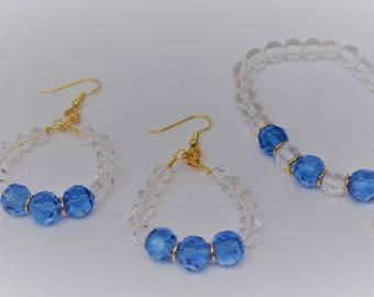 Beautiful set of Earrings and Bracelet