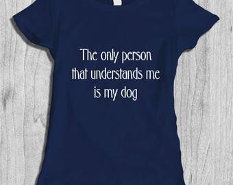 Funny Dog Lover T-shirt for Her - Dog life Shirt - Funny Pet Shirt - Gifts for Dog Owner - Dog Humor Shirt
